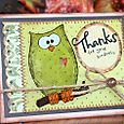 MEL Owl Thanks kindness