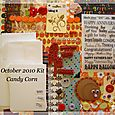 October 2010 Card Kit - Candy Corn $18.00