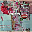 Valentine 2012 Kit-Hugs and Kisses  SOLD OUT