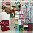 Holiday 2013 Kit-Be Merry $19.99