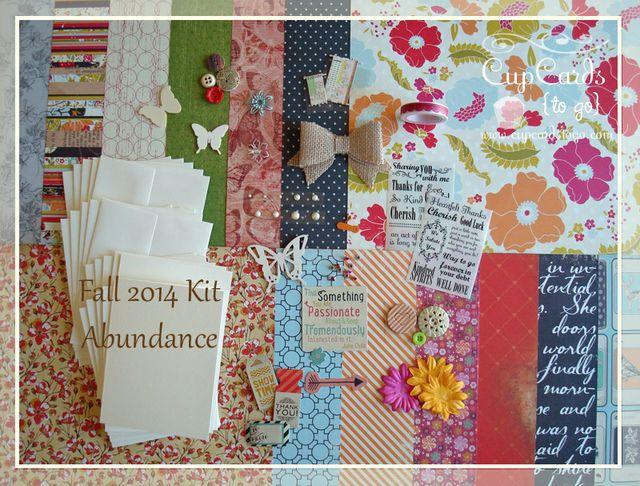 Fall 2014 Kit - Abundance  $24.00