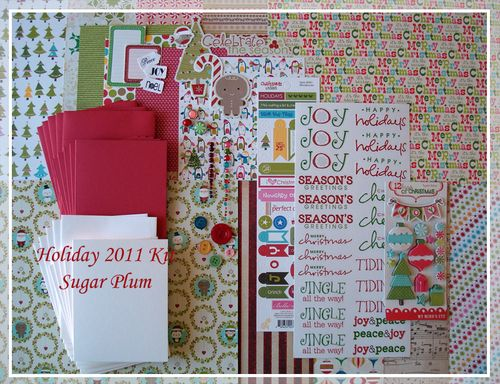 Holiday2011 Card Kit-Sugar Plum $18.00