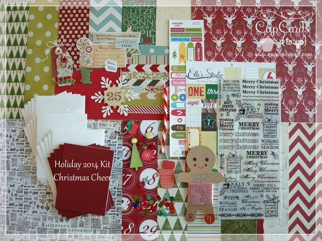 Holiday 2014 Kit-Christmas Cheer $24.00
