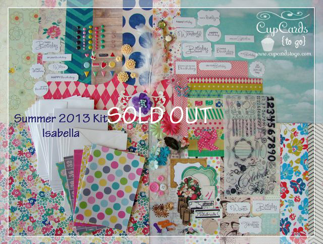 July 2013 Kit-Isabella  SOLD OUT