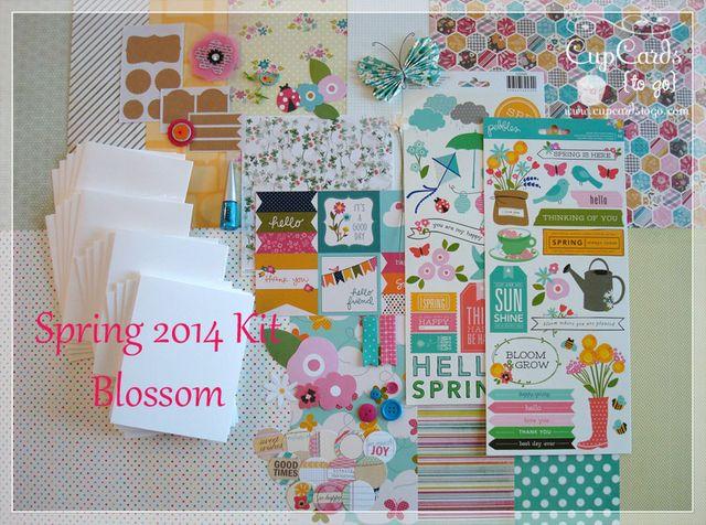 Spring 2014 Kit - Blossom  $24.00