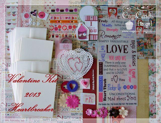 Valentine Kit 2013 - Heartbreaker $24.00